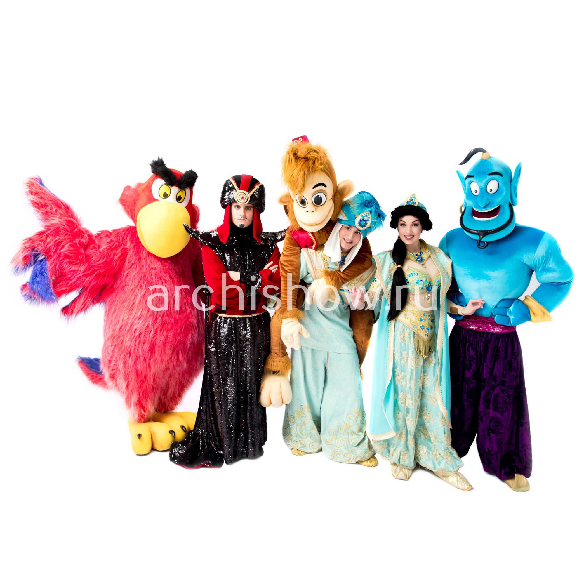 Аниматоры Алладин, Жасмин и Джин на детский праздник в ...